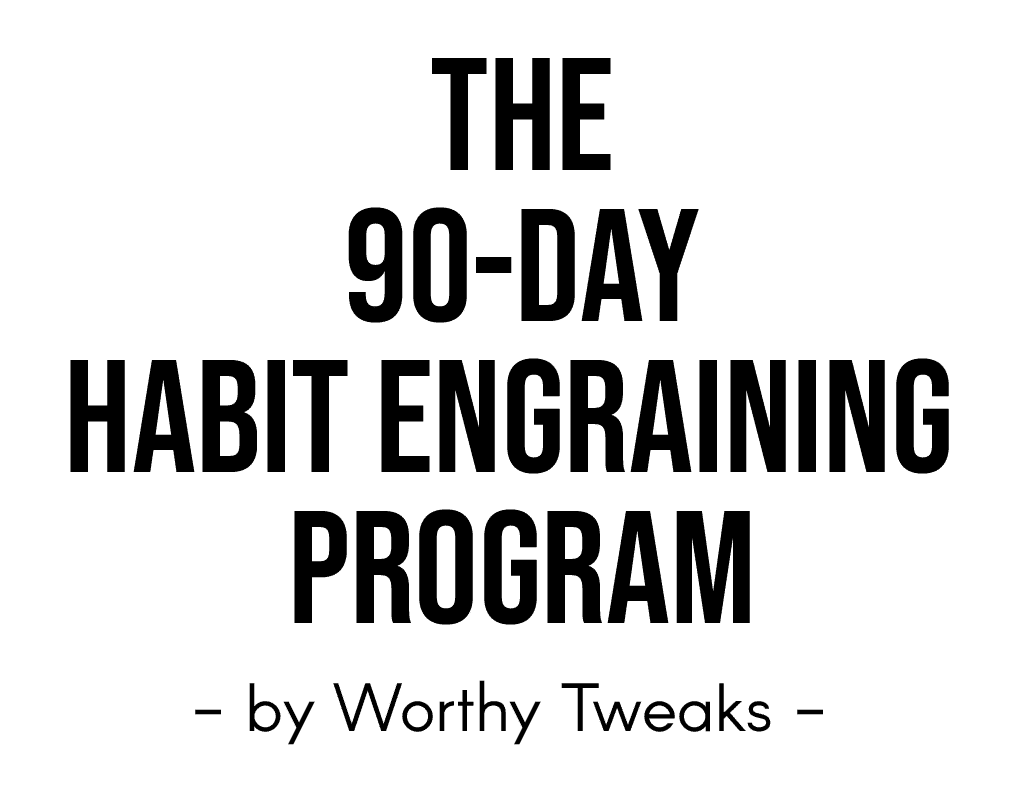 The 90 Day Habit Engraining Program